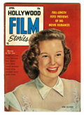 Golden Age (1938-1955):Non-Fiction, Hollywood Film Stories #1 (Feature/Prize Publications, 1950)Condition: VF+....