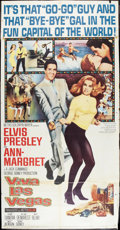 "Movie Posters:Elvis Presley, Viva Las Vegas (MGM, 1964). Three Sheet (41"" X 81""). ElvisPresley.. ..."