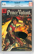 Silver Age (1956-1969):Adventure, Four Color #699 Prince Valiant - Circle 8 pedigree (Dell, 1956) CGC NM 9.4 Off-white to white pages....
