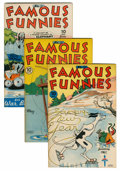 Golden Age (1938-1955):Miscellaneous, Famous Funnies File Copies Group (Eastern Color, 1945-49) Condition: Average VF+.... (Total: 7 Comic Books)