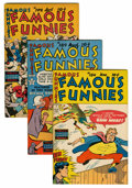 Golden Age (1938-1955):Miscellaneous, Famous Funnies File Copies Group (Eastern Color, 1949-53) Condition: Average VF+.... (Total: 10 Comic Books)