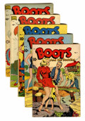 Golden Age (1938-1955):Romance, Boots and Her Buddies Group (Standard, 1948-49).... (Total: 5 ComicBooks)