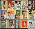 Baseball Cards:Lots, 1950's Topps New York Yankees Baseball Collection (75) With ManyStars! ...