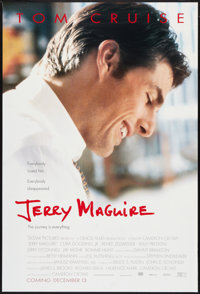 "Jerry Maguire (Tri-Star, 1996). One Sheets (2) (27"" X 40"") DS. Drama. ... (Total: 2 Items)"