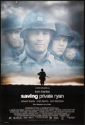 "Movie Posters:War, Saving Private Ryan (Paramount, 1998). One Sheets (2) (27"" X 40"")DS Advance and Regular Style. War.. ... (Total: 2 Items)"