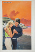 Original Comic Art:Covers, Norm Eastman Love is a Risk Paperback Cover IllustrationOriginal Art (Mills and Boon, 1986)....