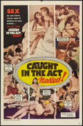 "Movie Posters:Sexploitation, Caught in the Act (William Mishkin Motion Pictures Inc., 1966). OneSheet (27"" X 41""). Sexploitation.. ..."