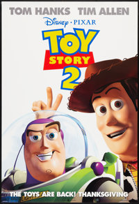 """Toy Story 2 Lot (Buena Vista, 1999). One Sheets (3) (27"""" X 40"""") DS Advance. Animated. ... (Total: 3 Items)"""