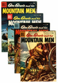 Silver Age (1956-1969):Adventure, Ben Bowie and His Mountain Men File Copies Group (Dell, 1957-58) Condition: Average NM-.... (Total: 4 Comic Books)