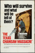 """Movie Posters:Horror, The Texas Chainsaw Massacre (New Line, R-1980). One Sheet (26.75"""" X 41""""). Horror.. ..."""