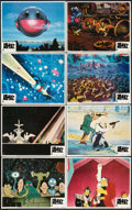 "Movie Posters:Animated, Heavy Metal (Columbia, 1981). Lobby Card Set of 8 (11"" X 14""). Animated.. ... (Total: 8 Items)"