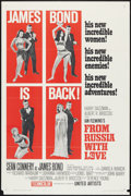 """Movie Posters:James Bond, From Russia with Love (United Artists, 1964). One Sheet (27"""" X 41"""") B Style. James Bond.. ..."""