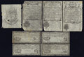 Colonial Notes:New Hampshire, New Hampshire Cohen Reprints.. ... (Total: 10 notes)