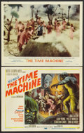 "Movie Posters:Science Fiction, The Time Machine (MGM, 1960). Title Lobby Card and Lobby Card (11""X 14""). Science Fiction.. ... (Total: 2 Items)"