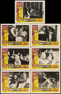 "Movie Posters:Horror, Night Tide (American International, 1963). Lobby Cards (7) (11"" X 14""). Horror.. ... (Total: 7 Items)"