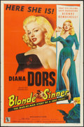 "Movie Posters:Bad Girl, Blonde Sinner (Allied Artists, 1956). One Sheet (27"" X 41""). BadGirl.. ..."
