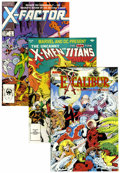 Modern Age (1980-Present):Miscellaneous, Marvel Modern Age Mutant Related Short Box Group (Marvel, 1980s-90s) Condition: NM-....