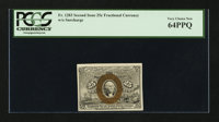 Fr. 1283 25¢ Second Issue. PCGS Very Choice New 64PPQ
