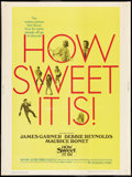 """Movie Posters:Comedy, How Sweet It Is! Lot (National General, 1968). Posters (2) (30"""" X 40""""). Comedy.. ... (Total: 2 Items)"""