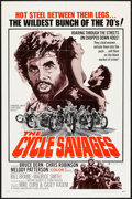 """Movie Posters:Exploitation, The Cycle Savages (Trans American, 1970). One Sheet (27"""" X 41""""). Exploitation.. ..."""