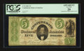 Confederate Notes:1861 Issues, T33 $5 1861 PF-18 Cr. 254Db .. ...