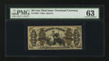 Fractional Currency:Third Issue, Fr. 1362 50¢ Third Issue Justice. PMG Choice Uncirculated 63.. ...