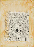 Original Comic Art:Covers, Warren Kremer Richie Rich Millions #31 Cover Original Art(Harvey, 1968)....