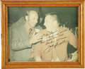 """Autographs:Celebrities, Jack Swigert Signed Color Photograph, 9.5"""" x 7.5"""" framed to 11.25""""x 9.25"""". Inscribed """"To Joe Garino/ whose wise counsel/ ...(Total: 1 Item)"""