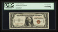 Small Size:World War II Emergency Notes, Fr. 2300 $1 1935A Hawaii Silver Certificate. F-C Block. PCGS Very Choice New 64PPQ.. ...