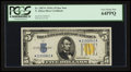 Small Size:World War II Emergency Notes, Fr. 2307* $5 1934A North Africa Silver Certificate. PCGS Very Choice New 64PPQ.. ...
