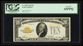 Small Size:Gold Certificates, Fr. 2400 $10 1928 Gold Certificate. PCGS Gem New 65PPQ.. ...