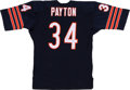Football Collectibles:Uniforms, Walter Payton Signed Jersey....