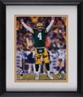 Football Collectibles:Photos, Brett Favre Signed Photograph....