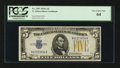 Small Size:World War II Emergency Notes, Fr. 2307 $5 1934A North Africa Silver Certificate. PCGS Very Choice New 64.. ...