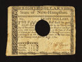 Colonial Notes:New Hampshire, New Hampshire April 29, 1780 $8 Very Fine, POC.. ...