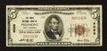 National Bank Notes:West Virginia, Piedmont, WV - $5 1929 Ty. 1 The Davis NB Ch. # 4088. ...