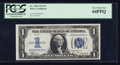 Small Size:Silver Certificates, Low Serial Number Fr. 1606 $1 1934 Silver Certificate. PCGS Very Choice New 64PPQ.. ...