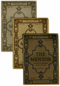 Memorabilia:Miscellaneous, The Mentor (The Mentor Association, 1916-17). Condition: Average VG.... (Total: 35 Items)