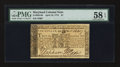 Colonial Notes:Maryland, Maryland April 10, 1774 $1 PMG Choice About Unc 58 EPQ.. ...