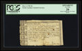 Colonial Notes:North Carolina, North Carolina May 4, 1758 10s PCGS Apparent Very Fine 20.. ...