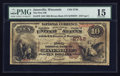 National Bank Notes:Wisconsin, Janesville, WI - $10 1882 Brown Back Fr. 479 The First NB Ch. # 2748. ...