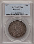 Bust Half Dollars: , 1823 50C Patched 3 XF40 PCGS. PCGS Population (7/45). NGC Census:(1/34). Numismedia Wsl. Price for problem free NGC/PCGS ...