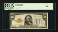 Small Size:Gold Certificates, Fr. 2404 $50 1928 Gold Certificate. PCGS Very Fine 30.. ...
