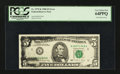 Error Notes:Ink Smears, Fr. 1979-K $5 1988 Federal Reserve Note. PCGS Very Choice New64PPQ.. ...