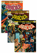 Bronze Age (1970-1979):Horror, Tomb of Dracula Group (Marvel, 1974-77) Condition: Average FN/VF.... (Total: 12 Comic Books)