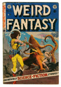 Golden Age (1938-1955):Science Fiction, Weird Fantasy #21 (EC, 1953) Condition: GD/VG....
