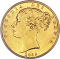 "Great Britain: , Great Britain: Victoria gold ""Ansell"" Sovereign 1859,..."