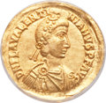 Ancients:Roman Imperial, Ancients: Valentinian III (AD 425-455). AV solidus. ...