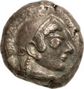 Ancients:Greek, Ancients: ATTICA, Athens. Ca. 500/490-485/0 BC. AR tetradrachm(16.96 gm). ...