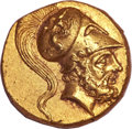 Ancients:Greek, Ancients: Metapontion. Ca. 280-279 BC. AV 1/3 stater (2.79 gm). ...